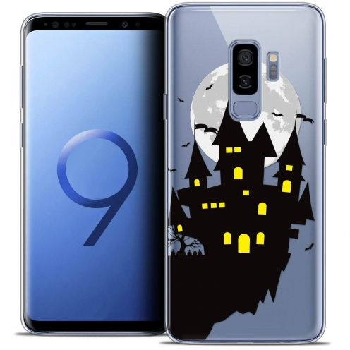 "Coque Crystal Gel Samsung Galaxy S9+ (6.2"") Extra Fine Halloween - Castle Dream"