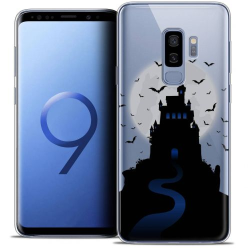 "Coque Crystal Gel Samsung Galaxy S9+ (6.2"") Extra Fine Halloween - Castle Nightmare"