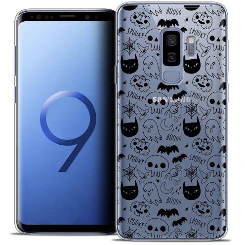 "Coque Crystal Gel Samsung Galaxy S9+ (6.2"") Extra Fine Halloween - Spooky"