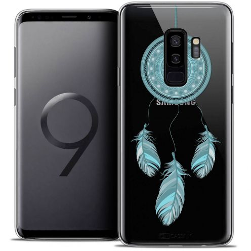 "Coque Crystal Gel Samsung Galaxy S9+ (6.2"") Extra Fine Dreamy - Attrape Rêves Blue"