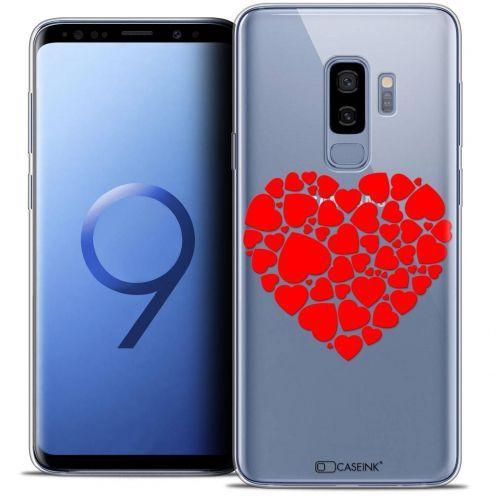 "Carcasa Crystal Gel Extra Fina Samsung Galaxy S9+ (6.2"") Love Coeur des Coeurs"