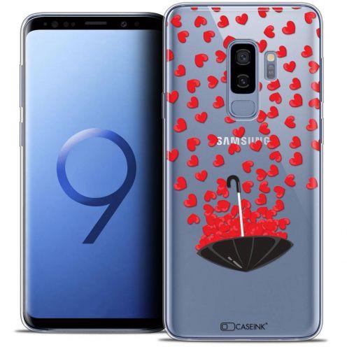 """Carcasa Crystal Gel Extra Fina Samsung Galaxy S9+ (6.2"""") Love Parapluie d'Amour"""
