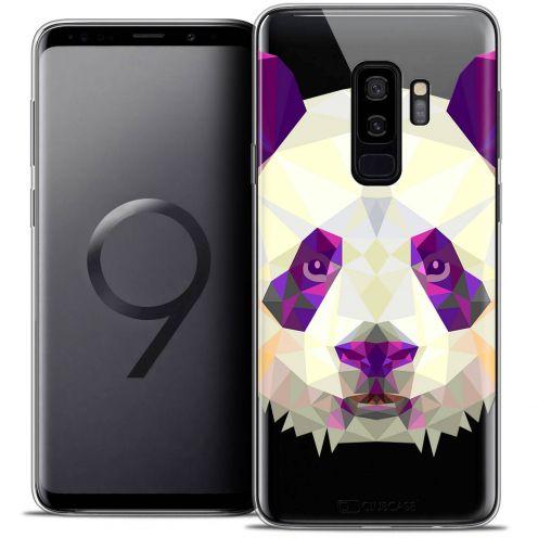 """Coque Crystal Gel Samsung Galaxy S9+ (6.2"""") Extra Fine Polygon Animals - Panda"""