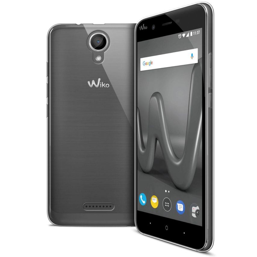 """Coque Wiko Harry (5"""") Extra Fine Souple Crystal Clear"""