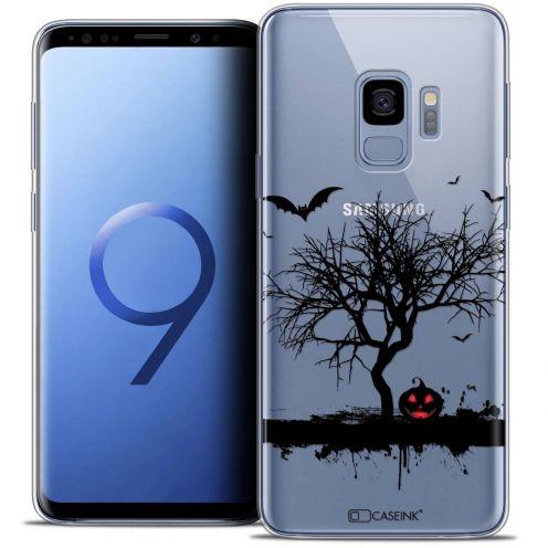 "Carcasa Crystal Gel Extra Fina Samsung Galaxy S9 (5.8"") Halloween Devil's Tree"