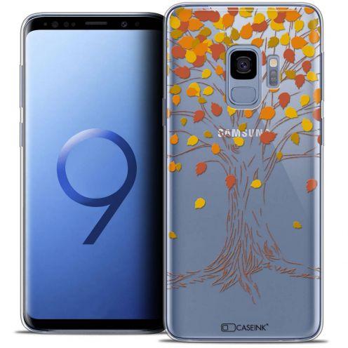 "Carcasa Crystal Gel Extra Fina Samsung Galaxy S9 (5.8"") Autumn 16 Tree"