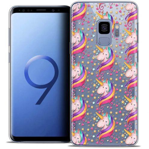 "Coque Crystal Gel Samsung Galaxy S9 (5.8"") Extra Fine Fantasia - Licorne Etoilée"