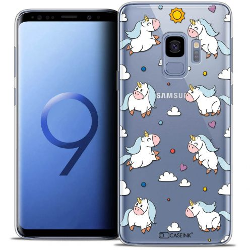 "Coque Crystal Gel Samsung Galaxy S9 (5.8"") Extra Fine Fantasia - Licorne In the Sky"