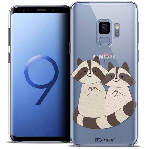 """Carcasa Crystal Gel Extra Fina Samsung Galaxy S9 (5.8"""") Sweetie Racoon Love"""