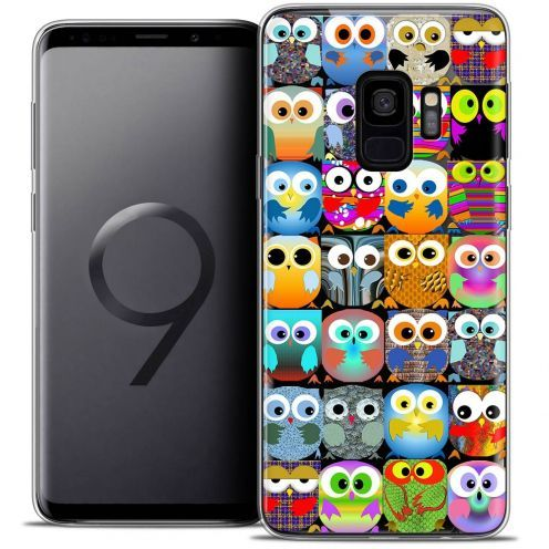 "Coque Crystal Gel Samsung Galaxy S9 (5.8"") Extra Fine Claude - Hibous"