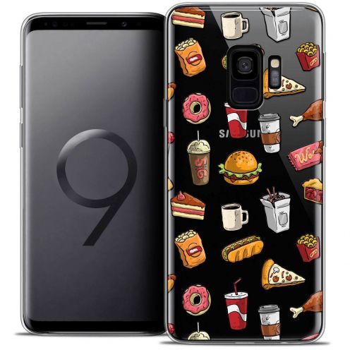 "Carcasa Crystal Gel Extra Fina Samsung Galaxy S9 (5.8"") Foodie Fast Food"