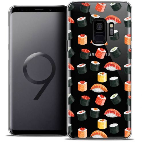 "Coque Crystal Gel Samsung Galaxy S9 (5.8"") Extra Fine Foodie - Sushi"