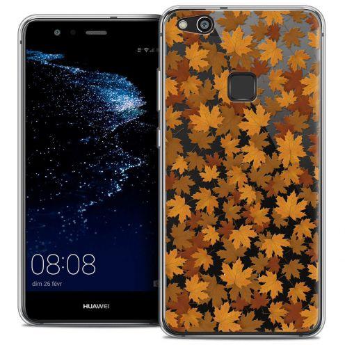 "Coque Crystal Gel Huawei P10 LITE (5.2"") Extra Fine Autumn 16 - Feuilles"