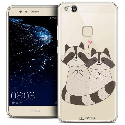 """Coque Crystal Gel Huawei P10 LITE (5.2"""") Extra Fine Sweetie - Racoon Love"""