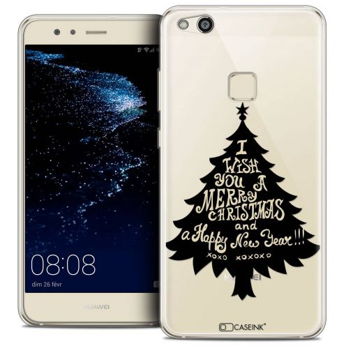 "Coque Crystal Gel Huawei P10 LITE (5.2"") Extra Fine Noël 2017 - XOXO Tree"