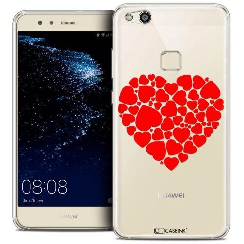 "Coque Crystal Gel Huawei P10 LITE (5.2"") Extra Fine Love - Coeur des Coeurs"