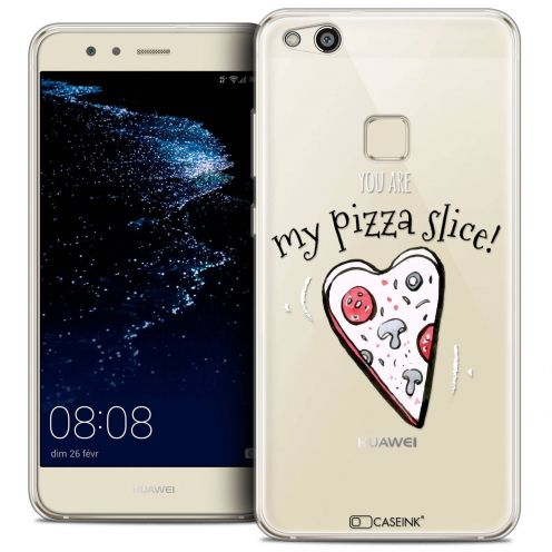 "Carcasa Crystal Gel Extra Fina Huawei P10 LITE (5.2"") Love My Pizza Slice"