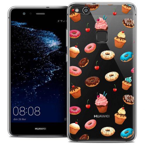 """Carcasa Crystal Gel Extra Fina Huawei P10 LITE (5.2"""") Foodie Donuts"""