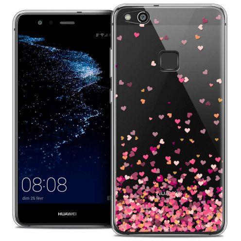 "Coque Crystal Gel Huawei P10 LITE (5.2"") Extra Fine Sweetie - Heart Flakes"