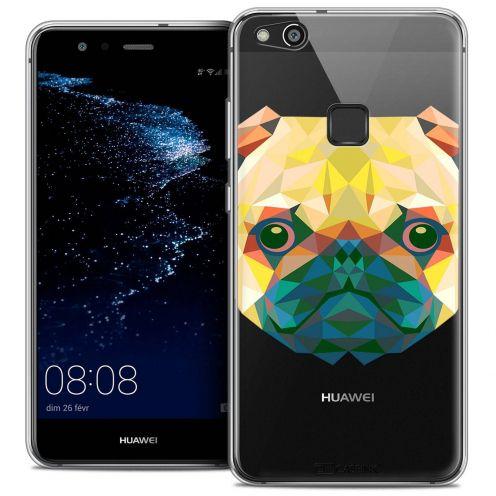 "Carcasa Crystal Gel Extra Fina Huawei P10 LITE (5.2"") Polygon Animals Perro"