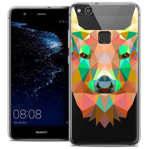 """Carcasa Crystal Gel Extra Fina Huawei P10 LITE (5.2"""") Polygon Animals Ciervo"""