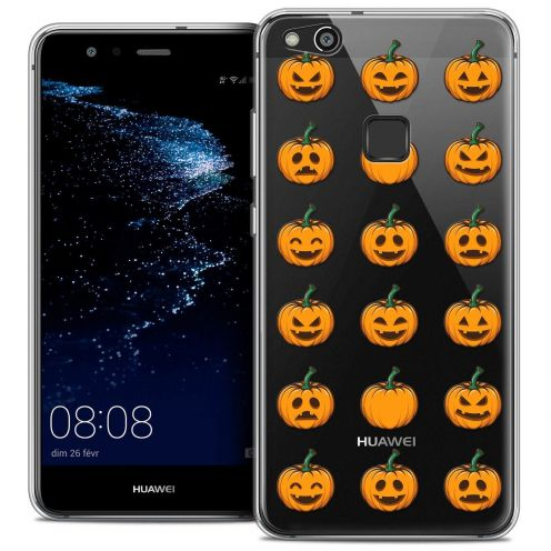 "Carcasa Crystal Gel Extra Fina Huawei P10 LITE (5.2"") Halloween Smiley Citrouille"