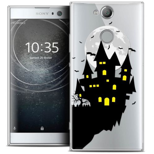 "Carcasa Crystal Gel Extra Fina Sony Xperia XA2 (5.2"") Halloween Castle Dream"