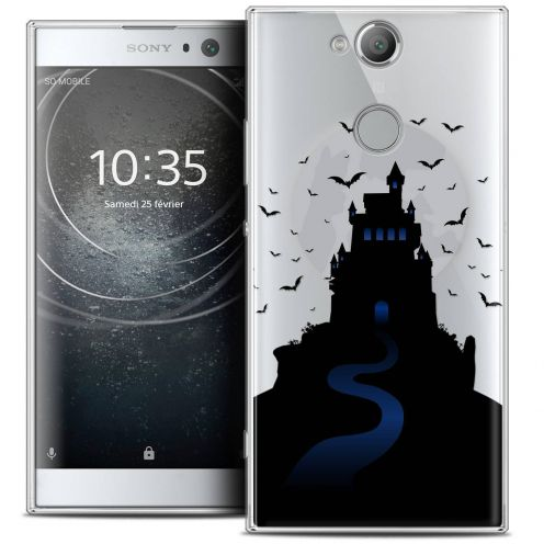 "Carcasa Crystal Gel Extra Fina Sony Xperia XA2 (5.2"") Halloween Castle Nightmare"