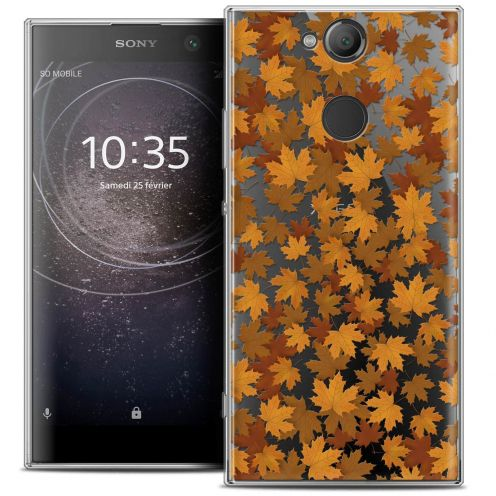 "Coque Crystal Gel Sony Xperia XA2 (5.2"") Extra Fine Autumn 16 - Feuilles"