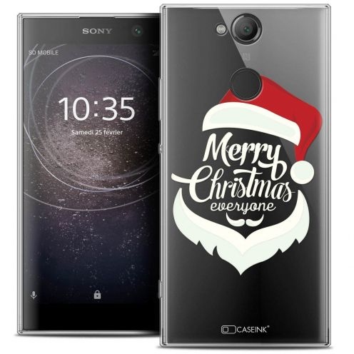 "Carcasa Crystal Gel Extra Fina Sony Xperia XA2 (5.2"") Noël 2017 Merry Everyone"