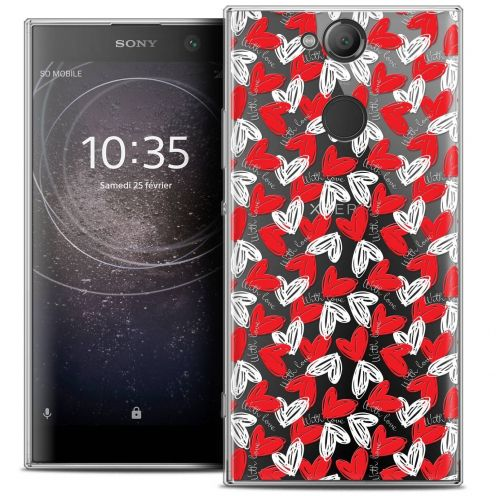 "Coque Crystal Gel Sony Xperia XA2 (5.2"") Extra Fine Love - With Love"