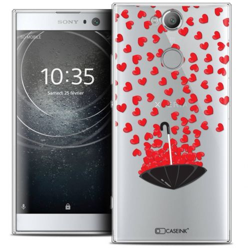 "Coque Crystal Gel Sony Xperia XA2 (5.2"") Extra Fine Love - Parapluie d'Amour"