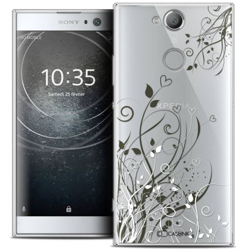 "Coque Crystal Gel Sony Xperia XA2 (5.2"") Extra Fine Love - Hearts Flowers"
