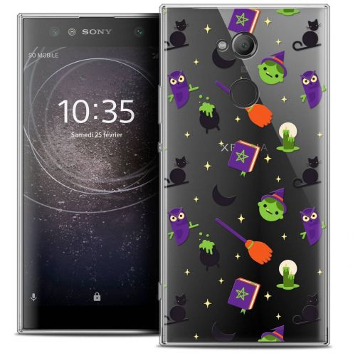"Carcasa Crystal Gel Extra Fina Sony Xperia XA2 ULTRA (6"") Halloween Witch Potter"
