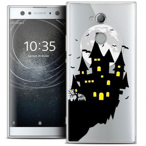 "Carcasa Crystal Gel Extra Fina Sony Xperia XA2 ULTRA (6"") Halloween Castle Dream"