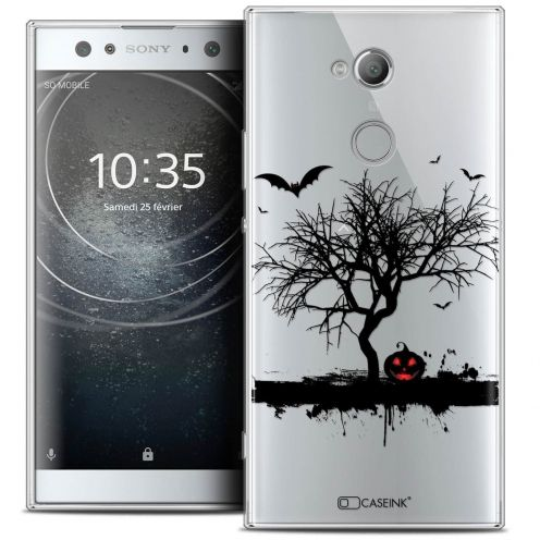 "Carcasa Crystal Gel Extra Fina Sony Xperia XA2 ULTRA (6"") Halloween Devil's Tree"
