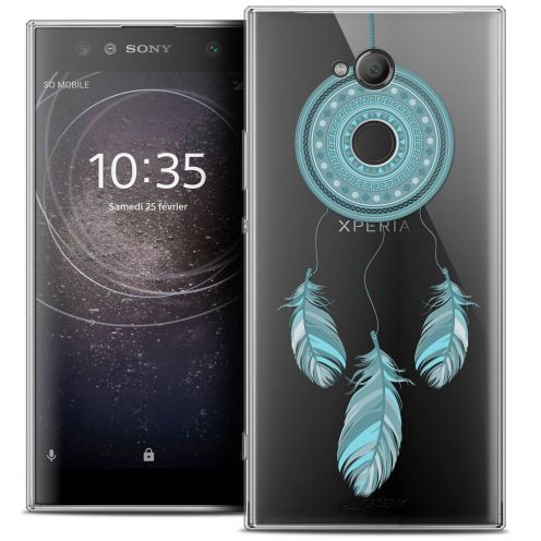 "Coque Crystal Gel Sony Xperia XA2 ULTRA (6"") Extra Fine Dreamy - Attrape Rêves Blue"