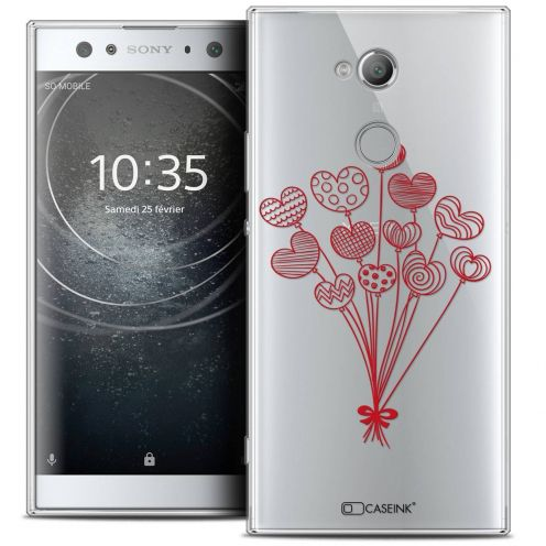 "Coque Crystal Gel Sony Xperia XA2 ULTRA (6"") Extra Fine Love - Ballons d'amour"