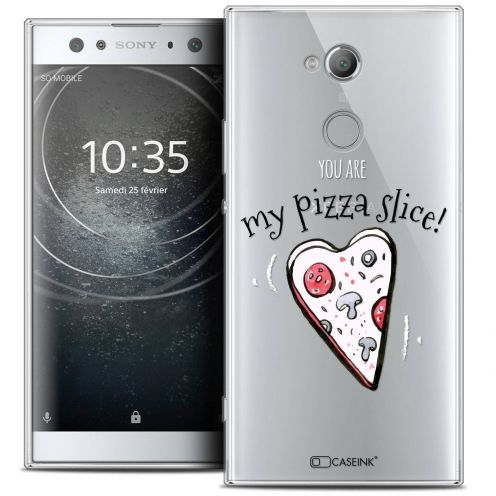 "Coque Crystal Gel Sony Xperia XA2 ULTRA (6"") Extra Fine Love - My Pizza Slice"