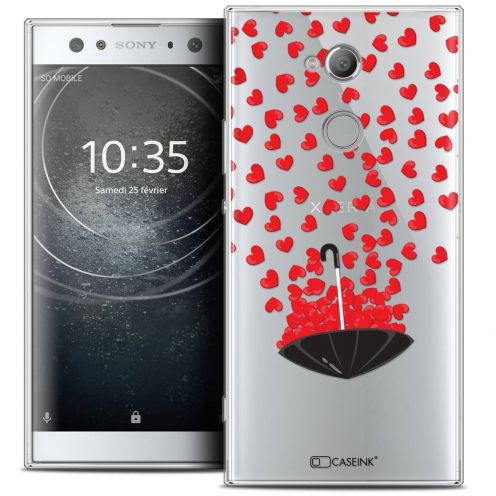 "Coque Crystal Gel Sony Xperia XA2 ULTRA (6"") Extra Fine Love - Parapluie d'Amour"