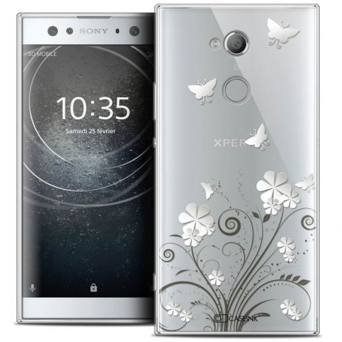 "Coque Crystal Gel Sony Xperia XA2 ULTRA (6"") Extra Fine Summer - Papillons"