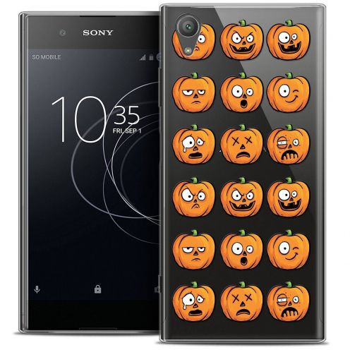 "Coque Crystal Gel Sony Xperia XA1 PLUS (5.5"") Extra Fine Halloween - Cartoon Citrouille"