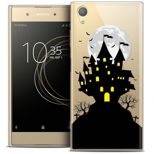 "Coque Crystal Gel Sony Xperia XA1 PLUS (5.5"") Extra Fine Halloween - Castle Scream"