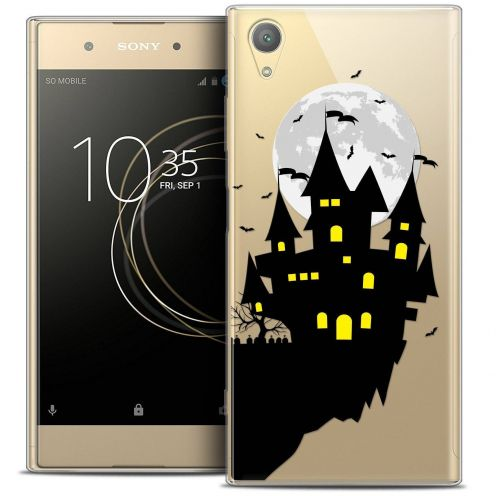 "Coque Crystal Gel Sony Xperia XA1 PLUS (5.5"") Extra Fine Halloween - Castle Dream"