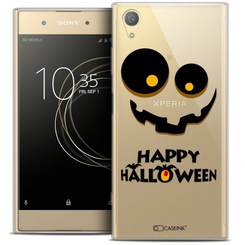 "Coque Crystal Gel Sony Xperia XA1 PLUS (5.5"") Extra Fine Halloween - Happy"
