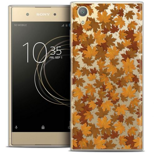 "Coque Crystal Gel Sony Xperia XA1 PLUS (5.5"") Extra Fine Autumn 16 - Feuilles"