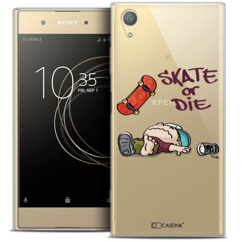 "Coque Crystal Gel Sony Xperia XA1 PLUS (5.5"") Extra Fine BD 2K16 - Skate Or Die"