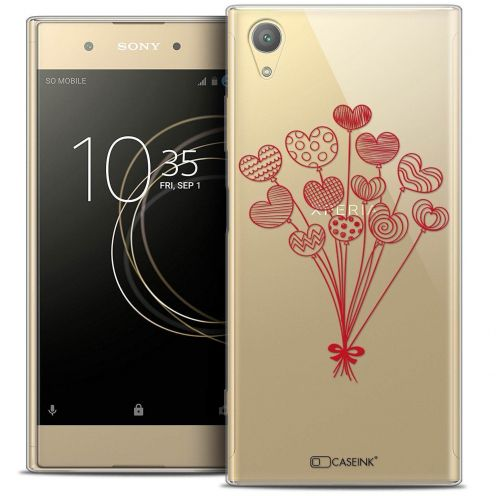"Coque Crystal Gel Sony Xperia XA1 PLUS (5.5"") Extra Fine Love - Ballons d'amour"