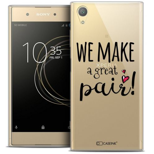 "Coque Crystal Gel Sony Xperia XA1 PLUS (5.5"") Extra Fine Love - We Make Great Pair"