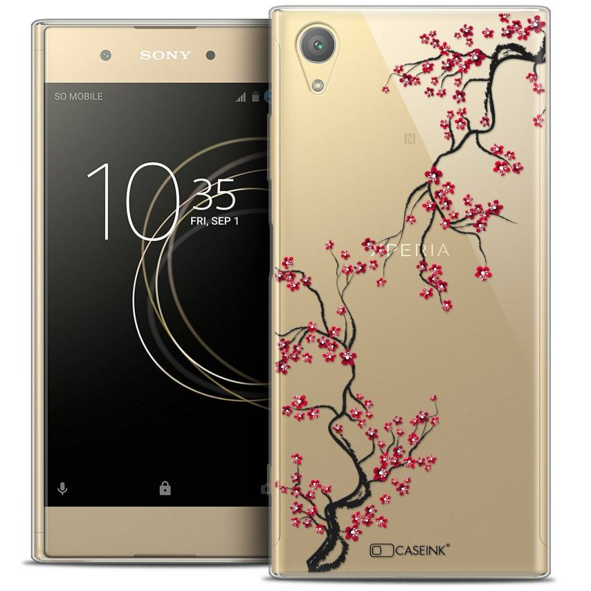 "Coque Crystal Gel Sony Xperia XA1 PLUS (5.5"") Extra Fine Summer - Sakura"